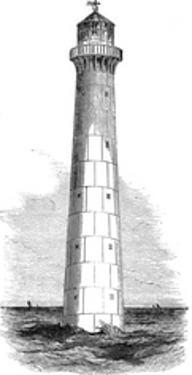 Cast Iron Lighthouse, Intended for Barbados, 1851