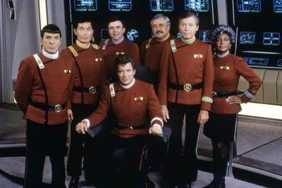 Cast of Star Trek V: The Final Frontier, 1989 (photo)