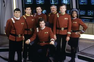 Cast of Star Trek V: The Final Frontier, 1989 (photo)