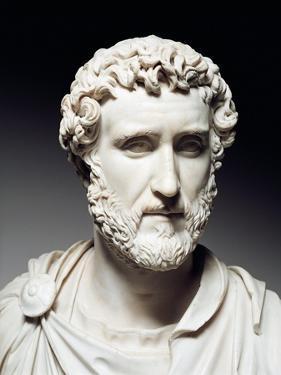 Cast Sculpture of Head of Antoninus Pius