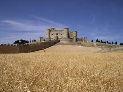 Castle and Walls, Belmonte, Castilla La Mancha, Spain