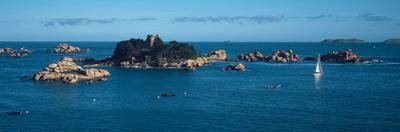 Castle at the Coast, Costaeres Castle, Cote De Granit Rose, Ploumanach, Perros-Guirec, Cotes-D'A...