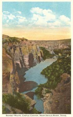 Castle Canyon, Devil's River, Texas