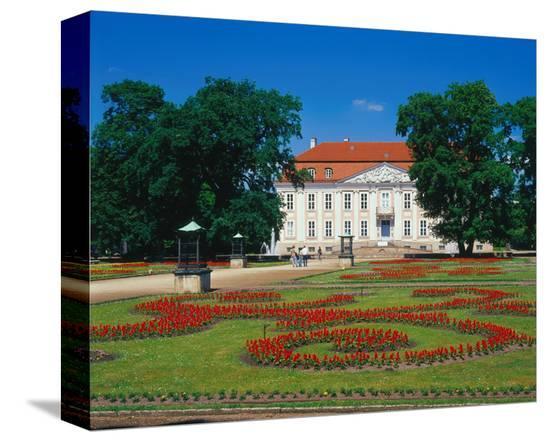Castle Friedrichsfelde Berlin--Stretched Canvas Print