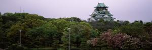 Castle in a Forest, Osaka Castle, Chuo Ward, Osaka, Osaka Prefecture, Kinki Region, Honshu, Japan