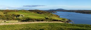 Castle on a Hill, Clifden Castle, Clifden, Connemara, County Galway, Republic of Ireland