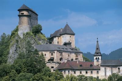 Castle on a Hill, Orava Castle, Oravsky Podzamok, Slovakia