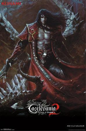 Castlevania LOS 2 - Dracula Video Game Poster
