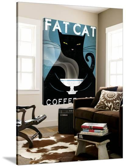 Cat Coffee no City-Ryan Fowler-Loft Art