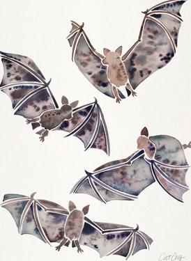 Bats In Flight by Cat Coquillette
