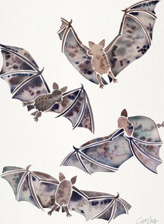 Bats In Flight by Cat Coquillette