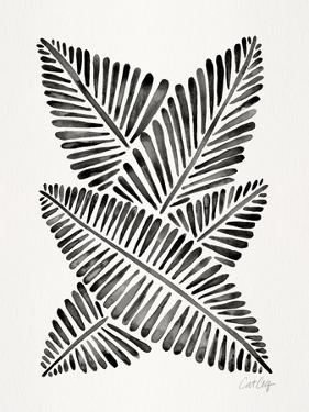 Black Banana Leaves by Cat Coquillette