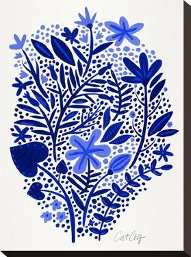 Blue Garden by Cat Coquillette