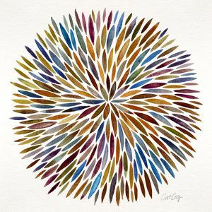 Burst in Retro Palette by Cat Coquillette