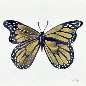 Butterfly in Gold by Cat Coquillette