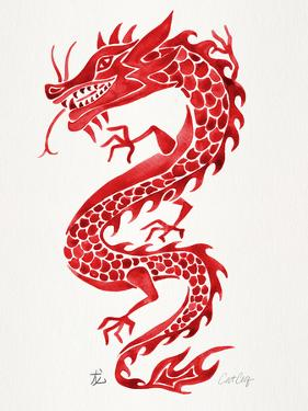 Chinese Dragon Red by Cat Coquillette