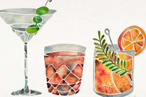 Classic Cocktails by Cat Coquillette