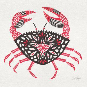 Crab in Pink and Grey by Cat Coquillette