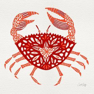 Crab in Red by Cat Coquillette