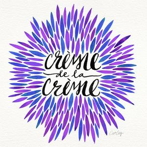 Crème de la Crème in Periwinkle by Cat Coquillette