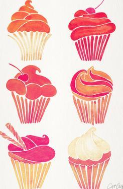 Cupcakes Pink by Cat Coquillette