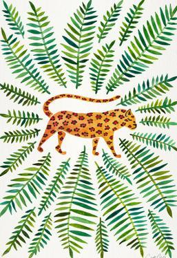 Jaguar Green Leaves by Cat Coquillette
