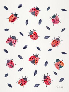 Ladybugs by Cat Coquillette