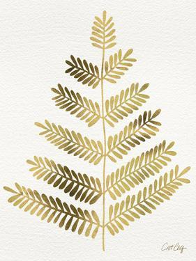 Leaflets in Gold – Cat Coqullette by Cat Coquillette