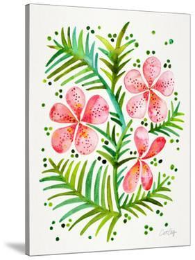 Orchid Bunch Peach by Cat Coquillette