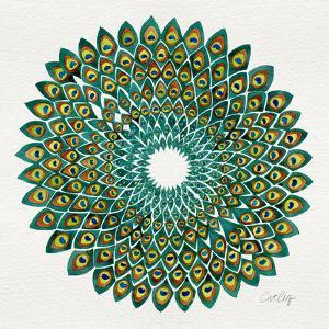 Original Peacock by Cat Coquillette