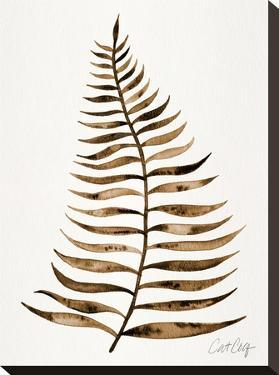 Palm Leaf Sepia by Cat Coquillette