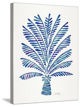 Palm Tree Navy by Cat Coquillette