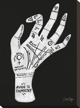 Palmistry Black And White by Cat Coquillette