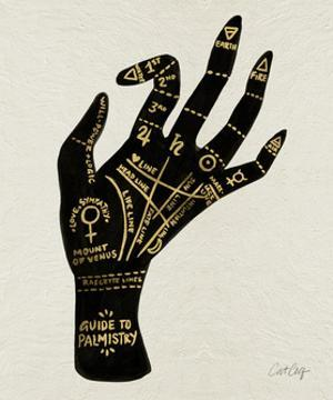 Palmistry Black by Cat Coquillette