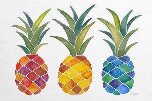 Pineapples by Cat Coquillette
