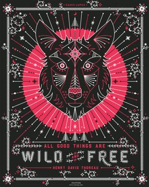 Pink Wolf by Cat Coquillette