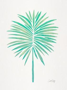 Seafoam Fan Palm by Cat Coquillette