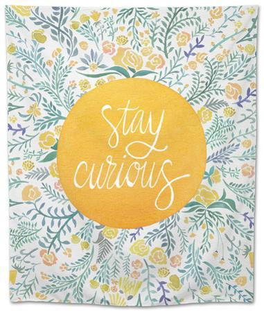 Stay Curious in Yellow and Green by Cat Coquillette
