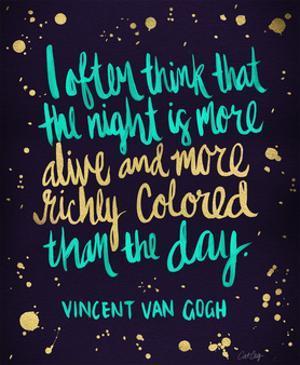 Van Gogh Blue by Cat Coquillette
