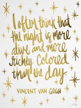 Van Gogh White by Cat Coquillette