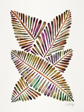 Vintage Banana Leaves by Cat Coquillette
