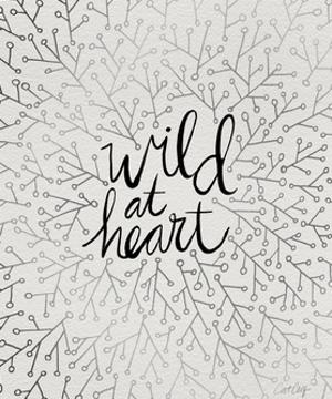 Wild at Heart - Black and Silver Palette by Cat Coquillette