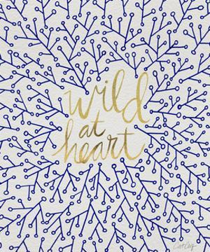 Wild at Heart - Navy and Gold Palette by Cat Coquillette
