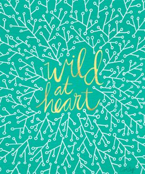 Wild at Heart - Turquoise and Gold Palette by Cat Coquillette