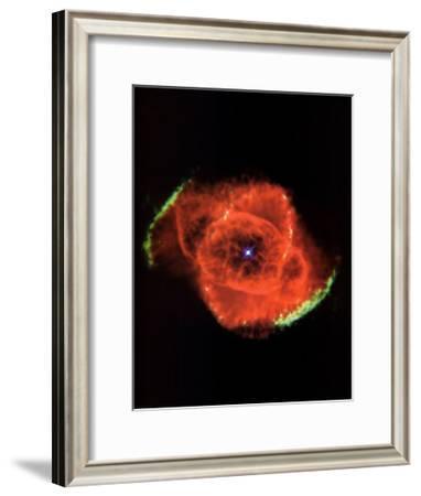 Cat's Eye Nebula Print--Framed Art Print