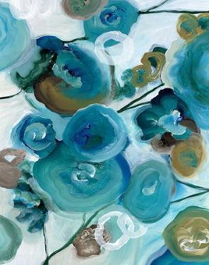 Sapphire Blooms II by Cat Tesla