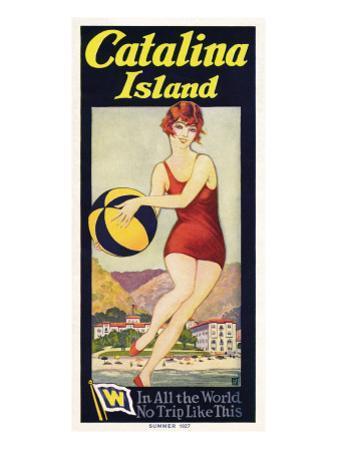 Catalina, Beach Ball, 1927
