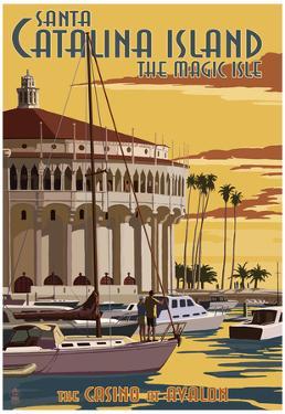 Catalina Island, California - Casino & Marina