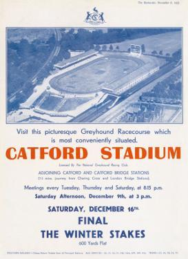 Catford Stadium Advertisement
