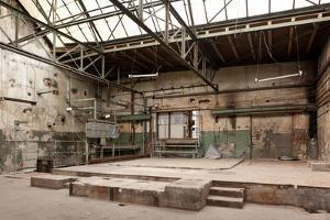 Berlin, Oberschšneweide, Disused Power Station, Hall by Catharina Lux